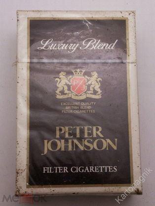 Сигареты PETER JOHNSON