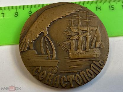 Эверест 82 Гималаи Медальер ШАБАНОВ ЛМД СССР Настольная Медаль 1982