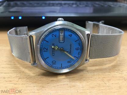 Citizen японские часы мужские наручные механические автоматические оригинальные редкие