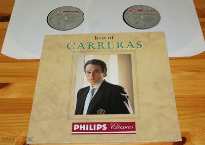2LP ♫ JOSE CARRERAS ☀ Best Of Carreras ◙ LP ©℗ 1991 Finland (NM) РЕДКИЙ  18/6