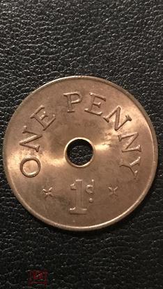 Замбия 1 пенни Zambia One Penny (1d) 1966 KM#5 BU dk