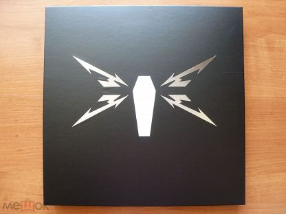"METALLICA ""Death Magnetic"" 2008 5LP Box, 45 RPM Limited Edition EU Rare!"