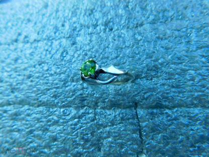кольцо 925 пр. хризолит природный