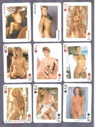 Карты игральные Эротика 54 листа #24-4