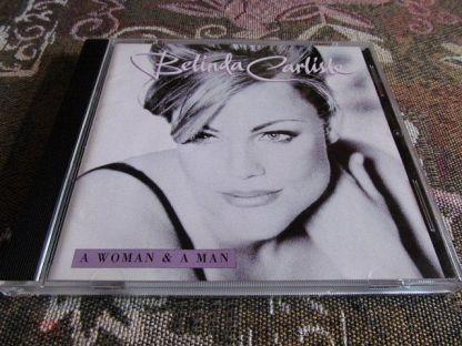 "Belinda Carlisle  ""A Woman & A Man"". 1996.  Japan CD.  1 st Press.  TOCP-50002."