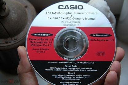 CASIO Digital Camera Software EX-S20  EX-M20 Owners Manual Multi-Language 1999-2003 года СОФТ