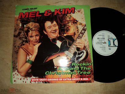 Rockin Around The Christmas Tree Mel And Kim.Mel Smith Kim Wilde Rockin Around The Christmas Tree Singl 12 Single 12 U K