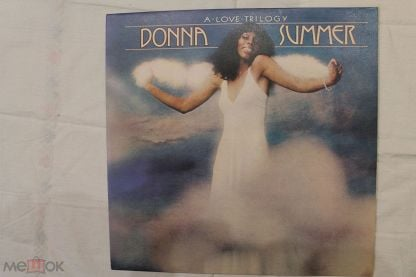 Пластинка Donna Summer ‎– A Love Trilogy, made in england