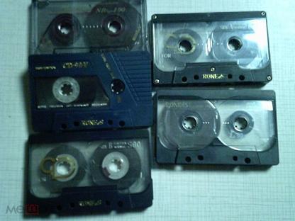 кассеты RONEeS  в лоте 5 шт.