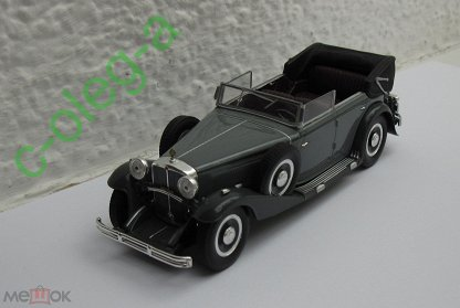 1935 MAYBACH SW35 SPOHN BLACK//RED HARDTOP 1//43 BY SIGNATURE MODELS 43702