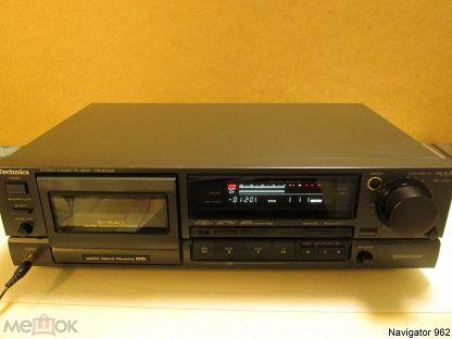 TECHNICS RS-BX 626 ----- КАССЕТНАЯ ДЕКА 1992 год