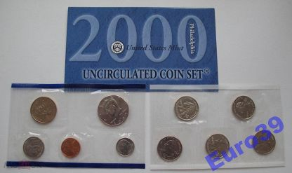 2001 P /& D United States Mint Uncirculated Coin Set
