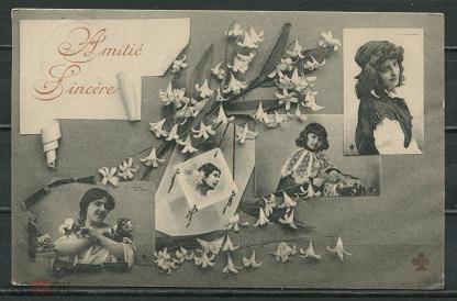 Авторские открытки, открытки 1906 года цена