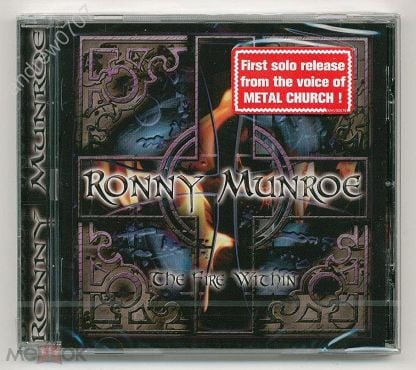 Новый CD Ronny Munroe (vocal of Metal Church) - The Fire Within (made in Germany)