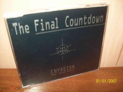 Enyosion vs. Europe - The Final Countdown (JAY KAY Records ‎– 930099-2) Germany 1999 MINT