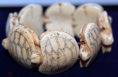 Я - черепаха, хранительница Рода! Резная кость, 2 пол 20 века.