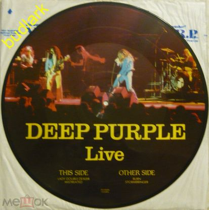 Deep Purple - Live (рicture disс) Mispress (MP)  Rare!