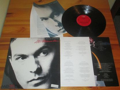 ♫ PETER RICHTER (ex. Metropolitan) ☀ 45 Minuten ◙ LP ©℗ 1987 Holland (NM) 3/7