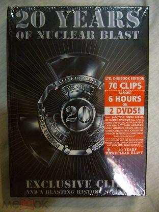DVD Firm 20 YEARS OF NUCLEAR BLAST 2 Set Digi Book