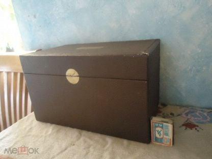 РЕДКОСТЬ!!! коробка банка футляр картон Амарилис мясокомбинат им. Микояна 285-170-170 мм из СССР