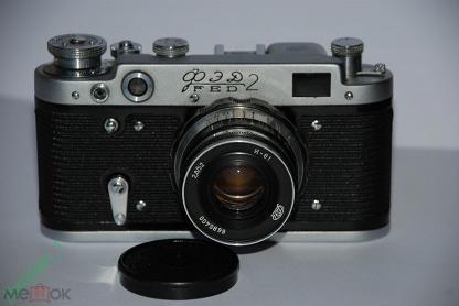 Фотоаппарат Фэд-2 объектив Индустар-61 № 6602446 Работает