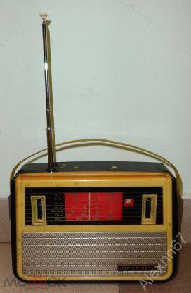 Радиоприемник VEF Spidola ВЭФ Спидола, ретро, СССР 60-е гг