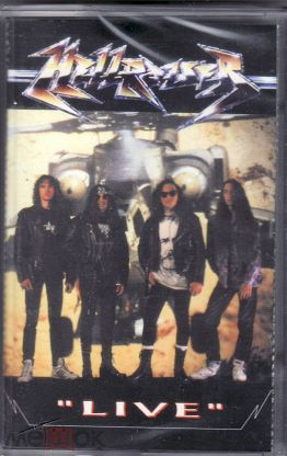 """Аудиокассета MC """"Hellraiser - Live"""" Moroz Records"""