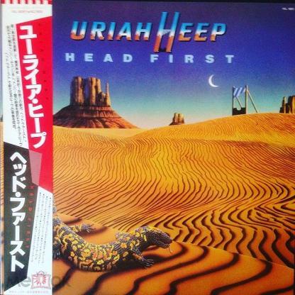 Uriah Heep  – Head First (Japan) LP, OBI, MINT