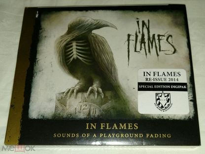 In Flames – Sounds Of A Playground Fading.   Digipak. Special Edition. U.S.A.  (SEALED).