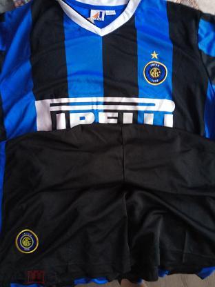 Форма Интер (Милан), черно-синяя