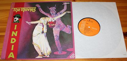 ♫ The MOVIES ☀ India (Prog Rock) ◙ LP ©℗ 1980 Germany (NM) 12/9