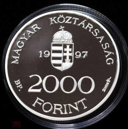 Венгрия 2000 Форинтов 1997 года Евроинтеграция