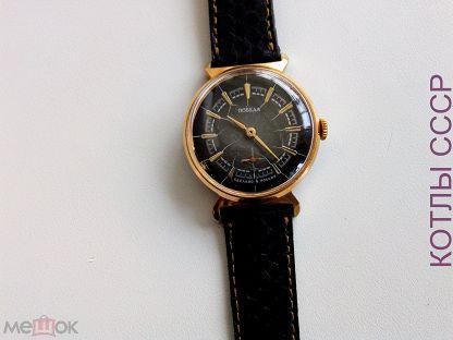 f9d85fae Механические позолоченные часы