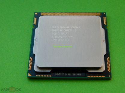 Процессор Intel Core i3-540 (LGA 1156, 3.06 Ghz)